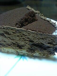 ショコラドゥショコラの1カット